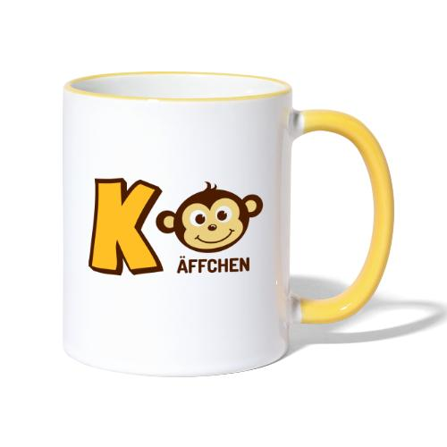 KaffeeBoy - Tasse zweifarbig