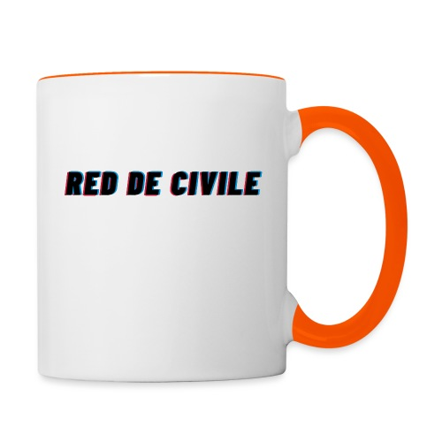 RED DE CIVILE main logo - Tofarvet krus