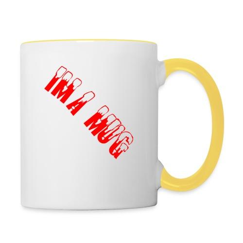 Im A Mug - Tofarvet krus