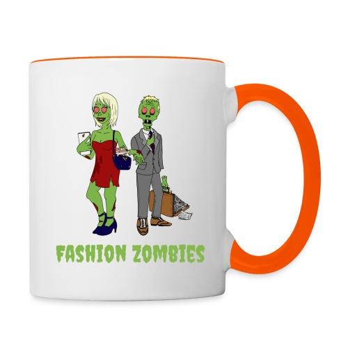 Fashion Zombie - Contrasting Mug