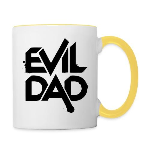 Evildad - Mok tweekleurig
