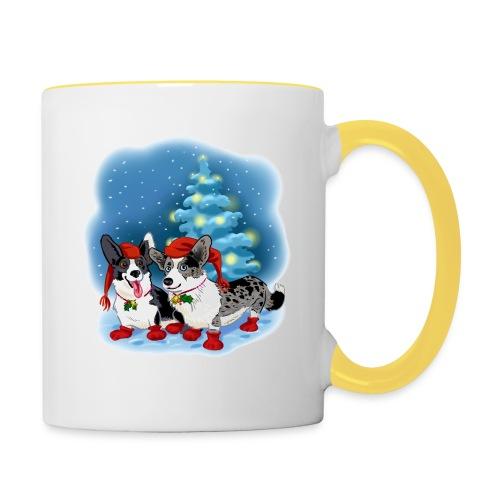 CORGI CHRISTMAS - Tofarget kopp