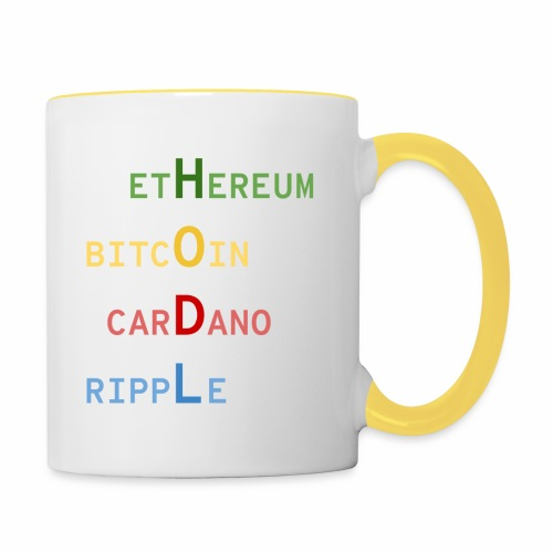 HODL color - Mug contrasté
