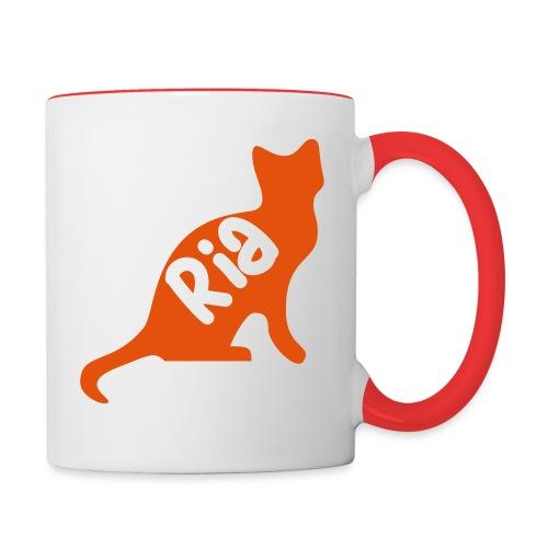 Team Ria Cat - Contrasting Mug