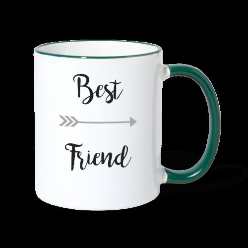 Best friend Teil 2 - Tasse zweifarbig
