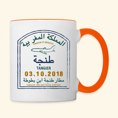 Tanger - Mug contrasté