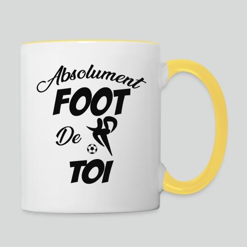 Absolument Foot de Toi (N) - Mug contrasté