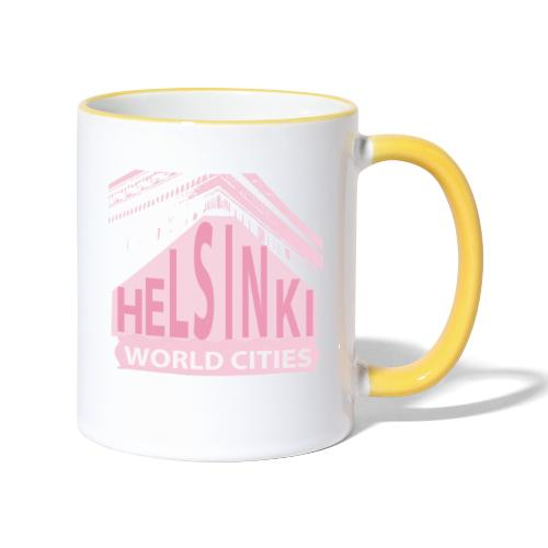 Helsinki light pink - Contrasting Mug