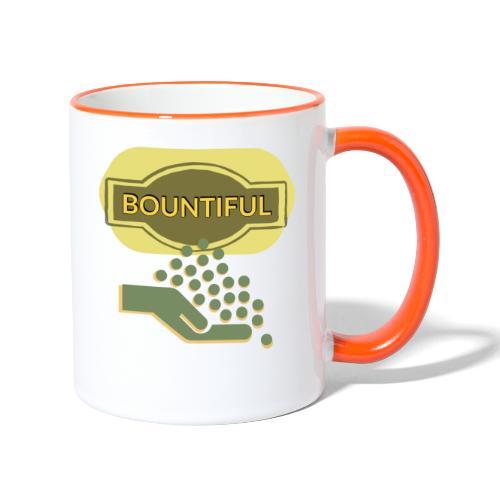 Bountiful - Contrasting Mug