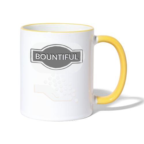 Bontiul gray white - Contrasting Mug