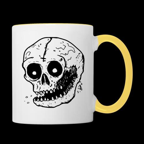 Death Crush - Tvåfärgad mugg