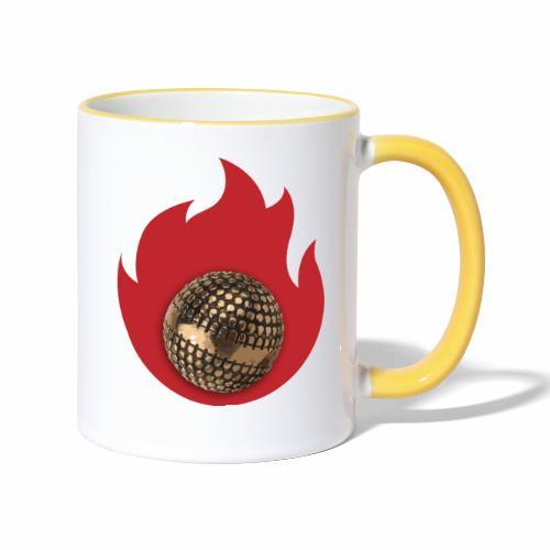 petanque fire - Mug contrasté