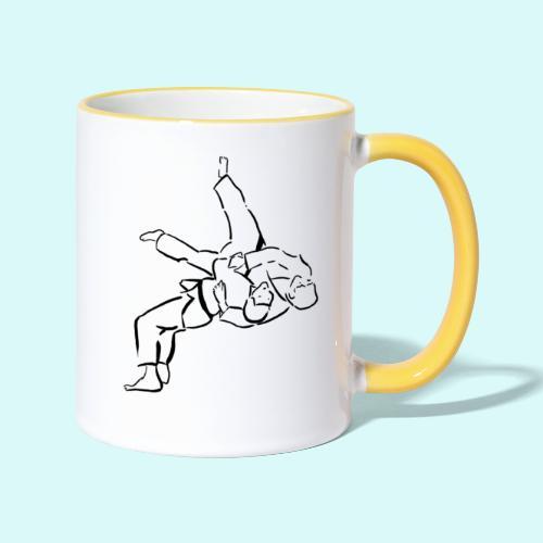 judo - Mug contrasté
