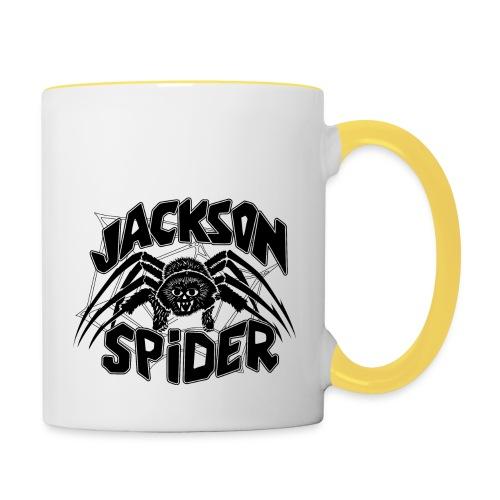 jackson spreadshirt - Tasse zweifarbig