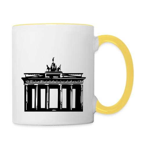 Brandenburger Tor - Tasse zweifarbig