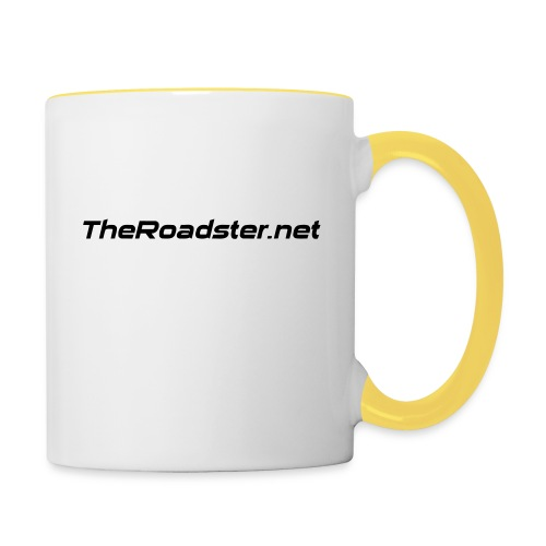 TheRoadster net Logo Text Only All Cols - Contrasting Mug