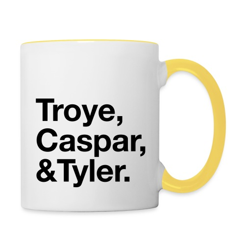 TROYE CASPAR AND TYLER - YOUTUBERS - Tazze bicolor