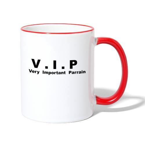 Vip - Very Important Parrain - Mug contrasté