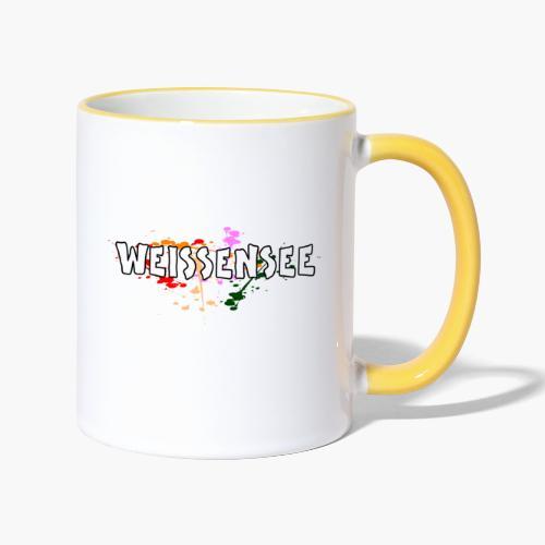 Weissensee - Tasse zweifarbig