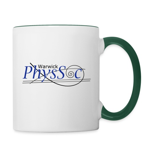 Official Warwick PhysSoc T Shirt - Contrasting Mug