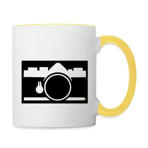 Vintage Camera - Tazze bicolor