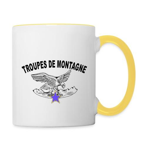 choucasTDM dos - Mug contrasté
