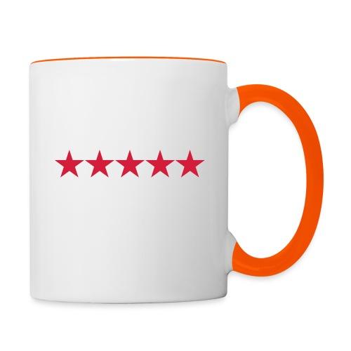 Rating stars - Kaksivärinen muki