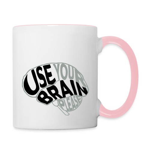 Use your brain - Tazze bicolor