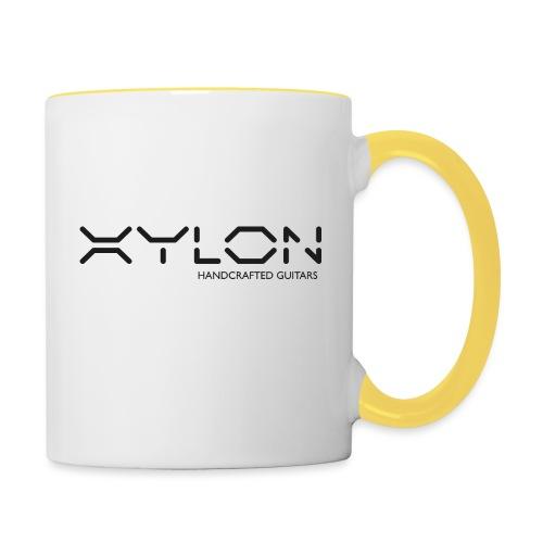 Xylon Handcrafted Guitars (plain logo in black) - Contrasting Mug