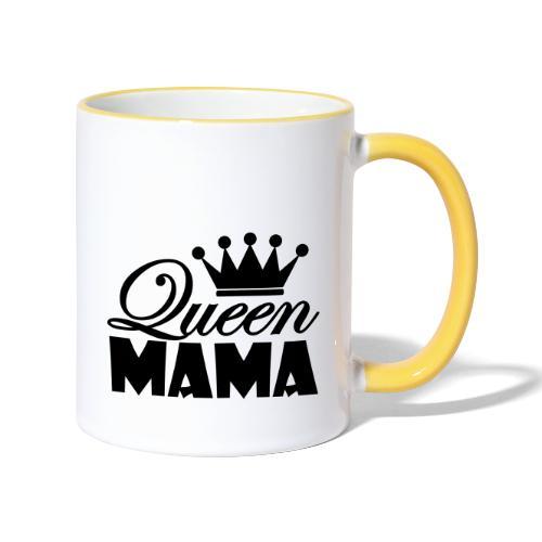 queenmama - Tasse zweifarbig