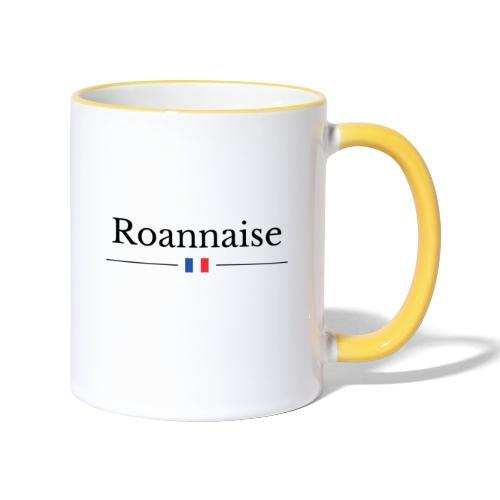Roannaise - Mug contrasté