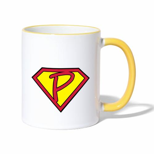 superp 2 - Tasse zweifarbig