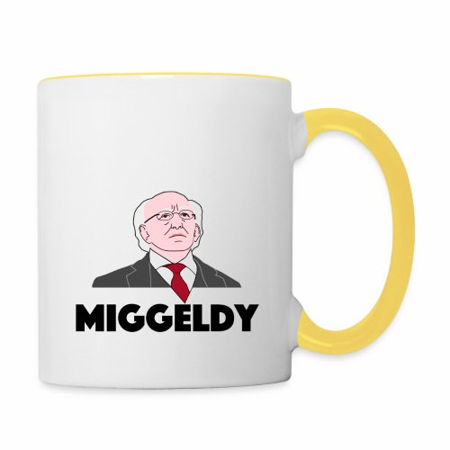 Miggeldy Higgins - Contrasting Mug