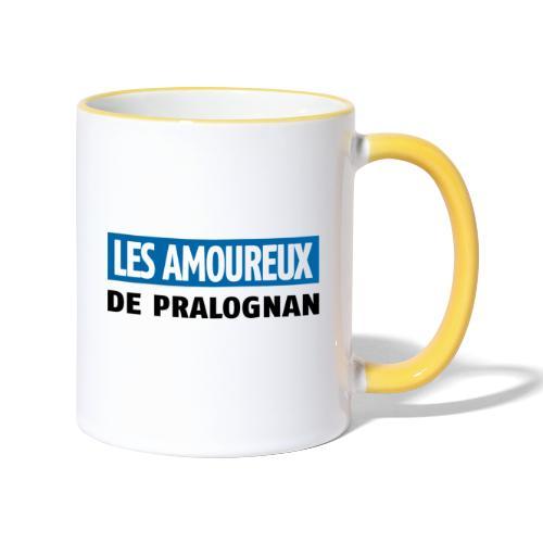 les amoureux de pralognan texte - Mug contrasté