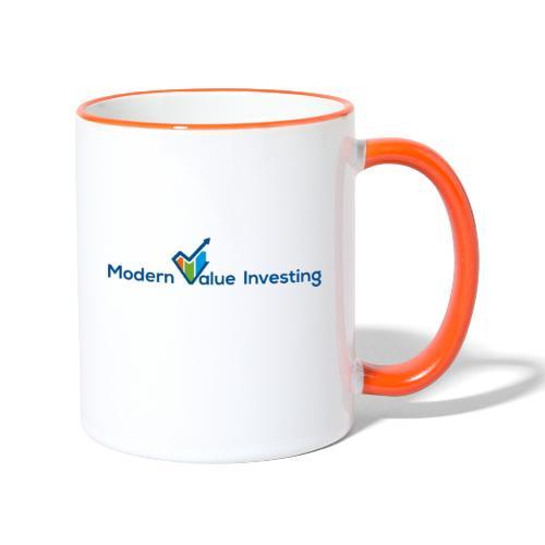 Modern Value Investing Tasse - Tasse zweifarbig