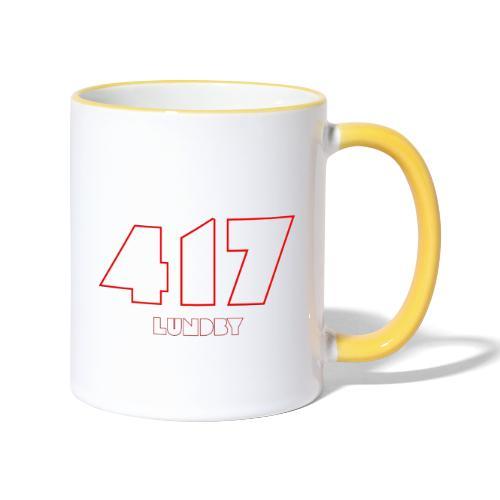417 Lundby - Tvåfärgad mugg