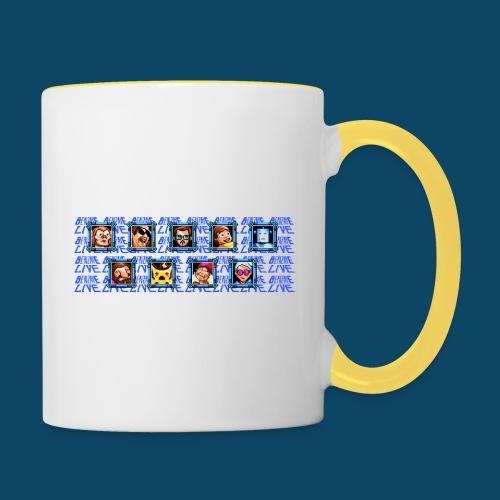 Benzaie LIVE - MUG - Mug contrasté
