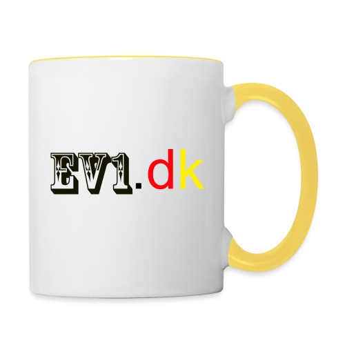 ev1 design - Tofarvet krus
