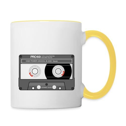 Cassette SONY UX Pro black - Contrasting Mug