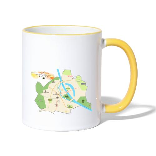 EG21 Vienna map - Contrasting Mug