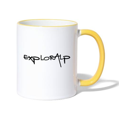 exploralp test oriz - Contrasting Mug