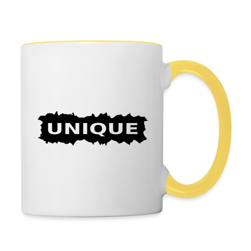 unique - Tasse zweifarbig