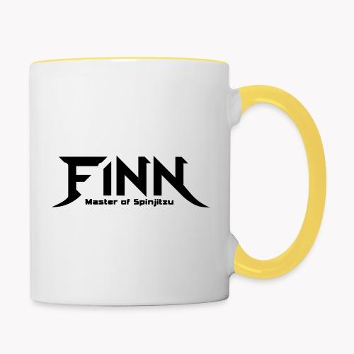 Finn - Master of Spinjitzu - Tasse zweifarbig