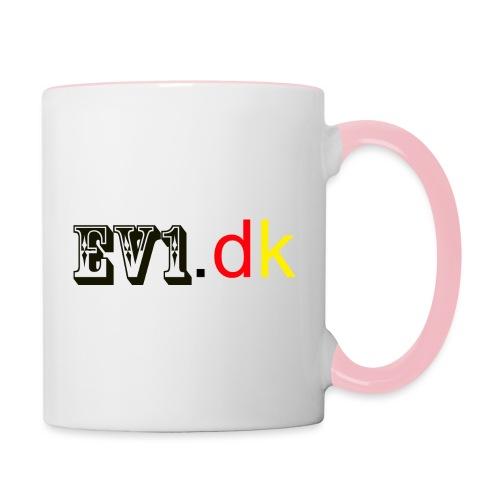 ev1 - Tofarvet krus