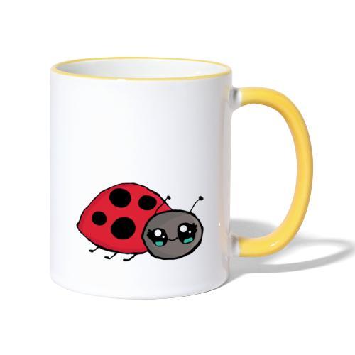Pirouette la coccinelle - Mug contrasté
