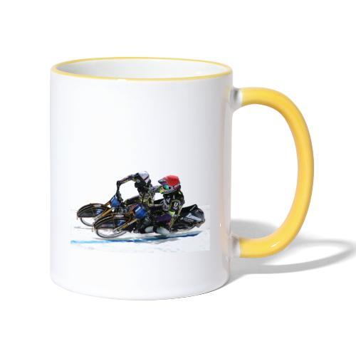 Paarfahren Max und Tobi - Tasse zweifarbig