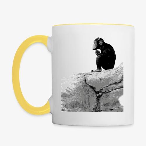 Music Monkey - Contrasting Mug