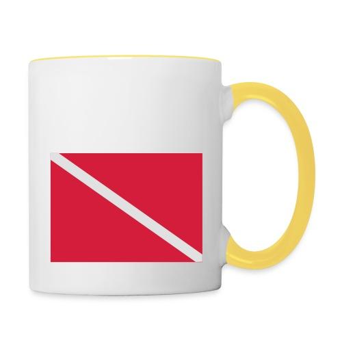 Diver Flag - Contrasting Mug