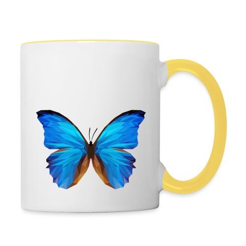 PAPILLON - MINIMALISTE - Mug contrasté