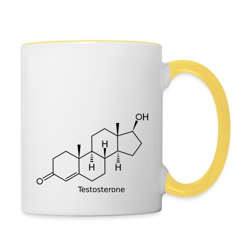 Testosterone - Bodybuilding, Crossfit, Fitness - Tasse zweifarbig